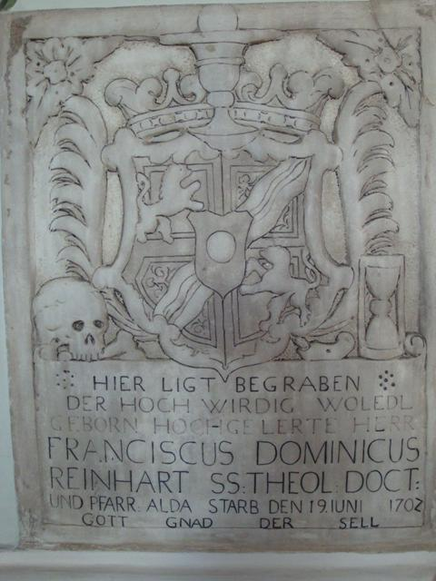 Pfarrer Franz Reinhart