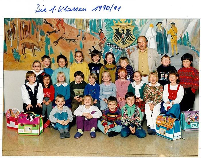 1. Klasse 1990/91
