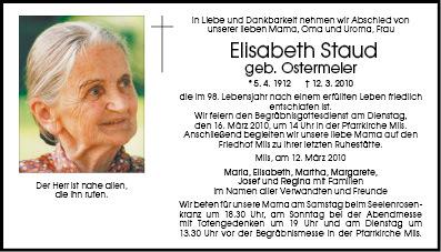 Staud Elisabeth
