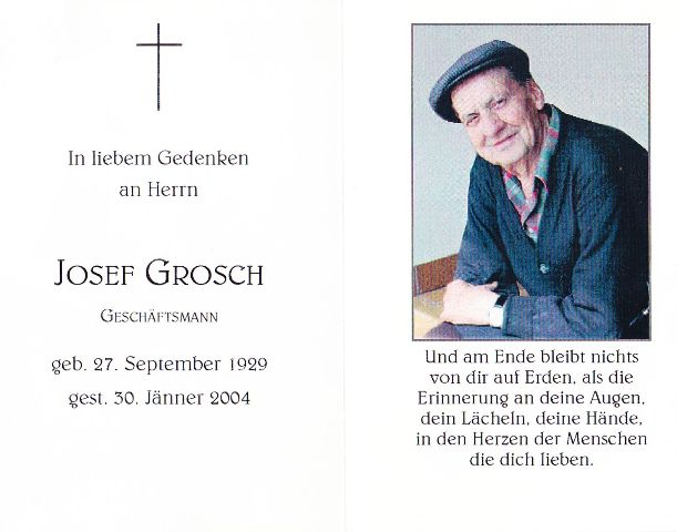Grosch Josef