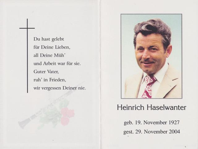 Haselwanter Heinrich