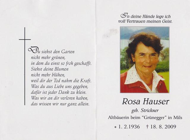 Hauser Rosa