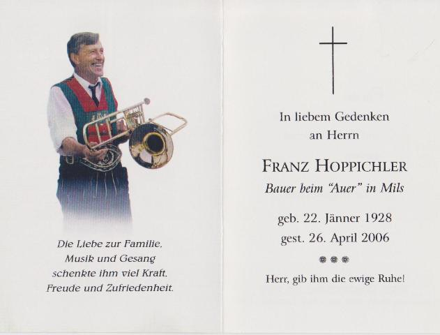 Hoppichler Franz