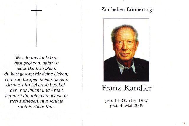Kandler Franz