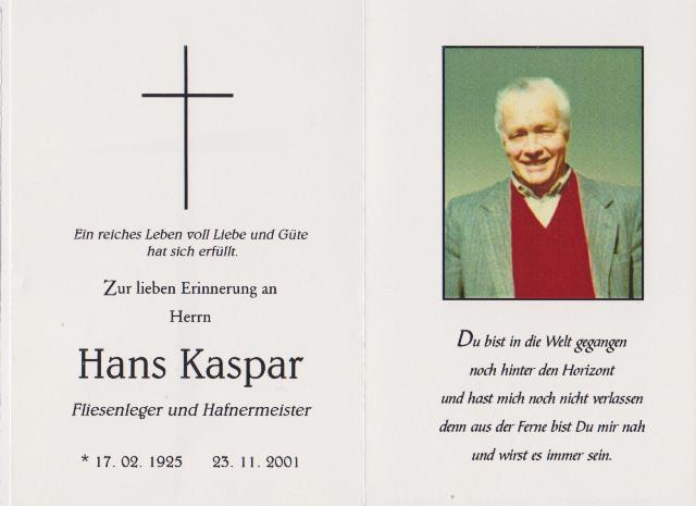 Kaspar Hans