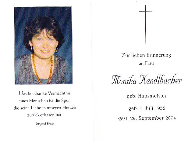 Kendlbacher Monika