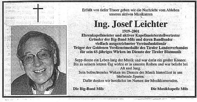 Ing. Leichter Josef