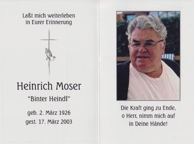 Moser Heinrich