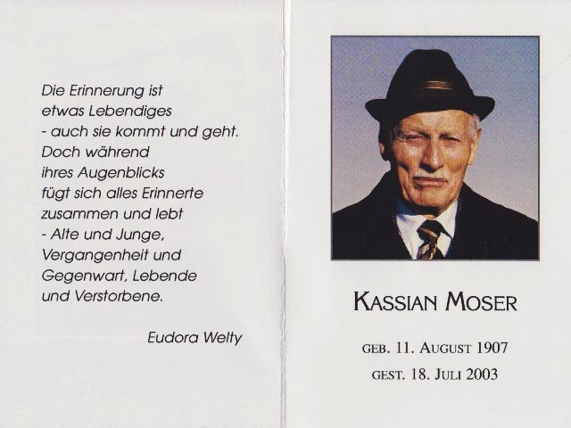 Moser Kassian