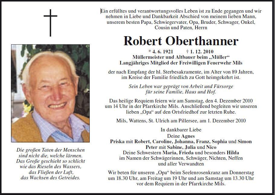 Oberthanner Robert