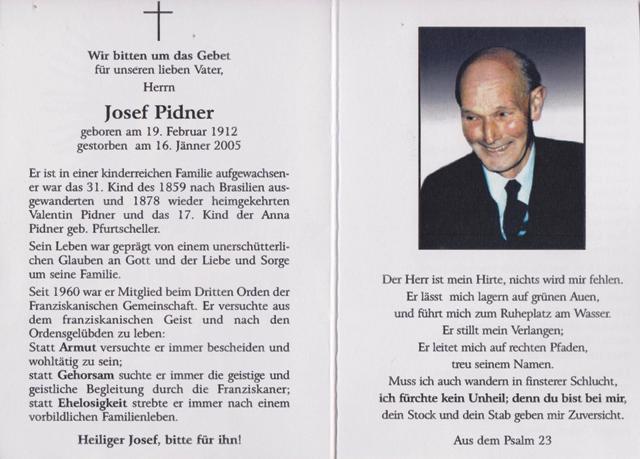 Pidner Josef