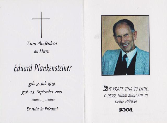 Plankensteiner Eduard
