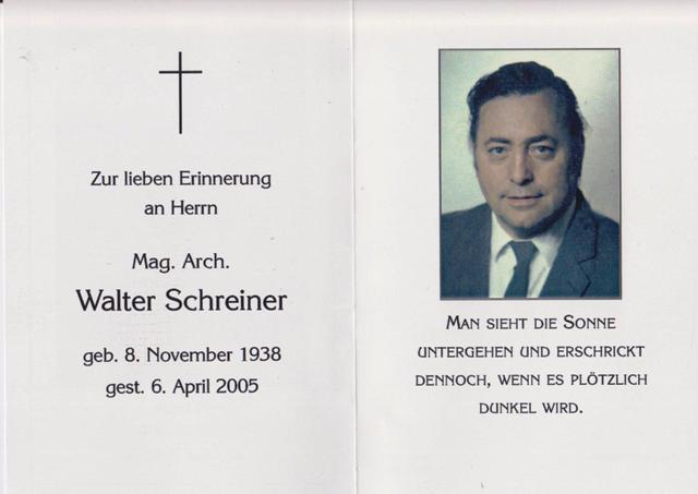 Mag. Schreiner Walter