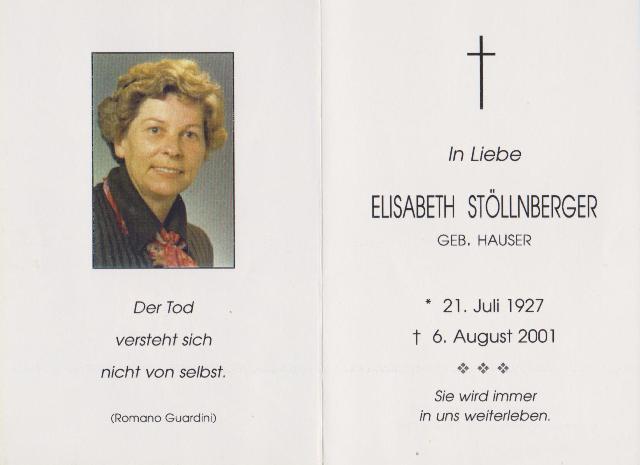 Stöllnberger Elisabeth