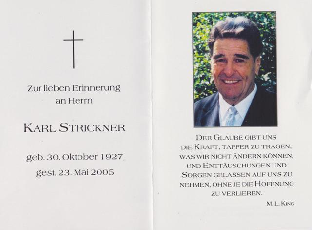 Strickner Karl