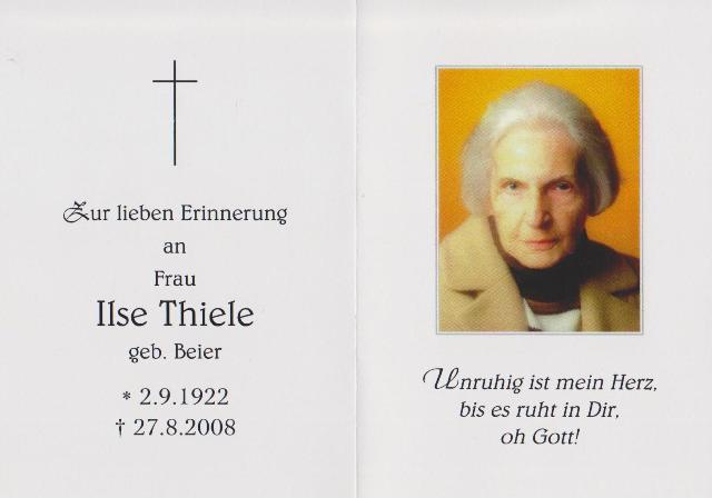 Thiele Ilse