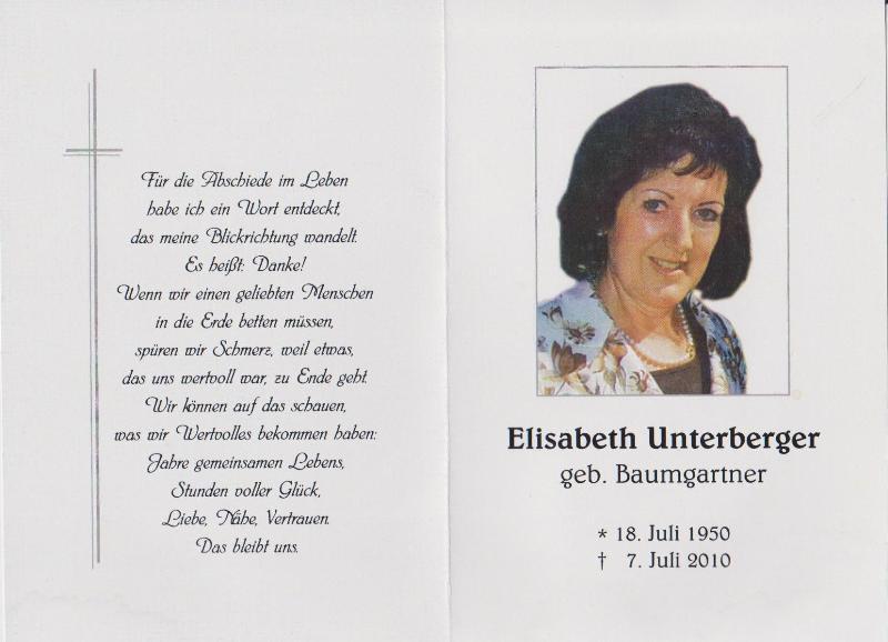 Unterberger Elisabeth