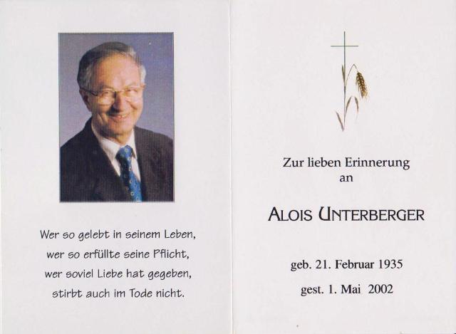 Unterberger Alois