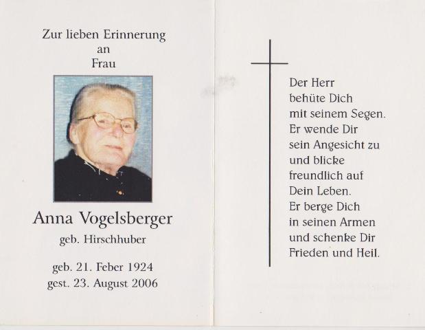 Vogelsberger Anna