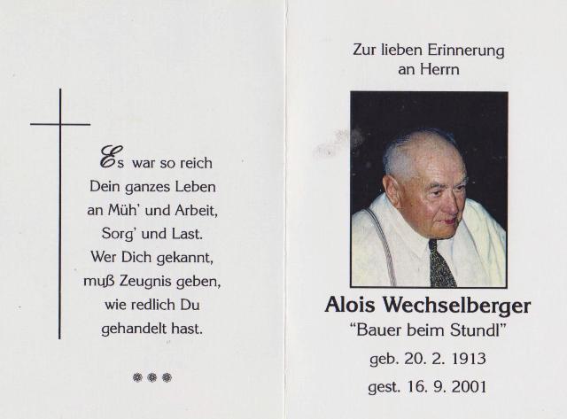 Wechselberger Alois