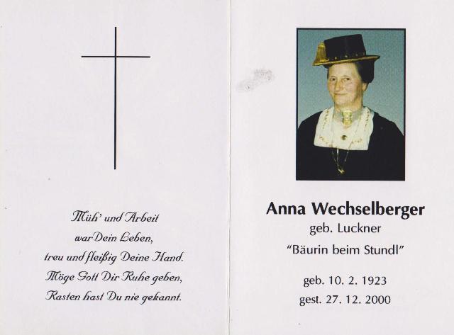 Wechselberger Anna