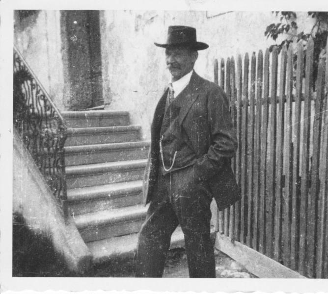 Müllermeister Alois Oberthanner (gest. 1931 im 60. Lebensjahr)