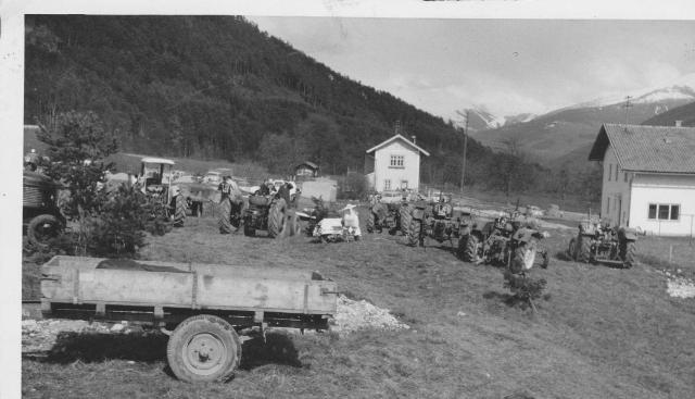 1. Milser Traktor Geschicklichkeitsfahren 1959