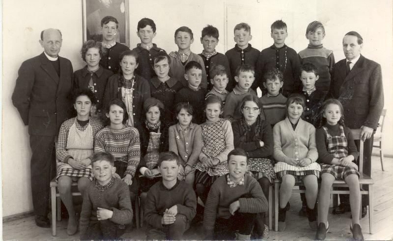 Klassenfotos II (1953 bis 1970)