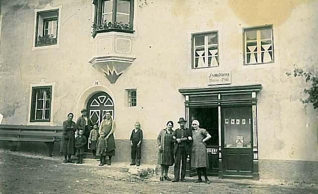 Gemischtwarenhandlung im Oberdorf