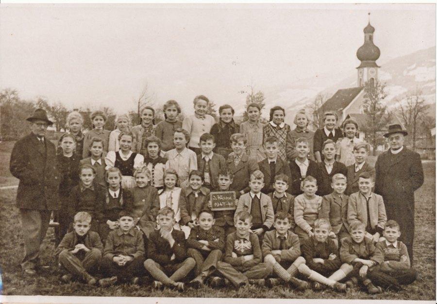 Volksschule 1947/48