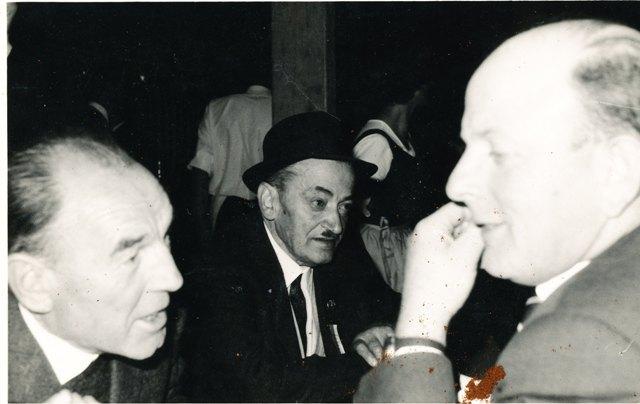Fritz Föger, Hans Lahartinger, Hans Vogelsberger