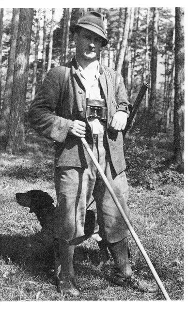 Waldaufseher Hans Stern