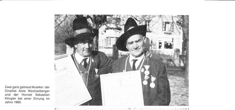 Alois Wechselberger und Sebastian Klingler, 1969