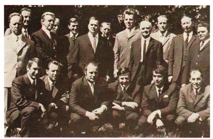 Gründungsmitglieder Oswald-Milser-Chor
