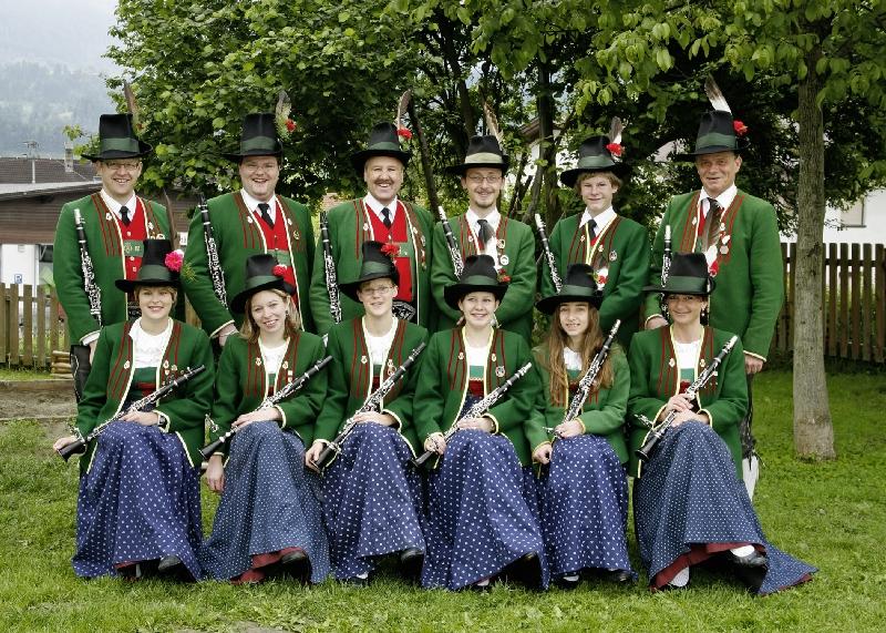 Musikkapelle Register 2008: Klarinetten