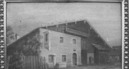"""H.Nr. 25 """"Beim Beinstingl"""", Oberdorf 5"""