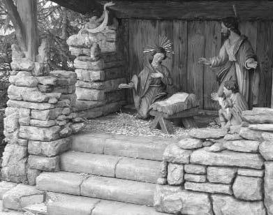 Dorfkrippe Diebstahl