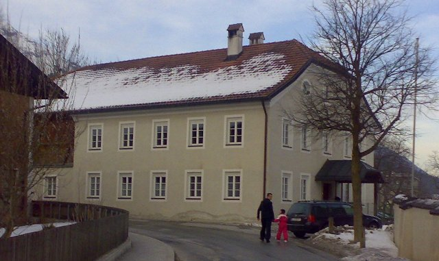 """H.Nr. 21 """"Der Pfarrwidum"""", Oberdorf 2"""