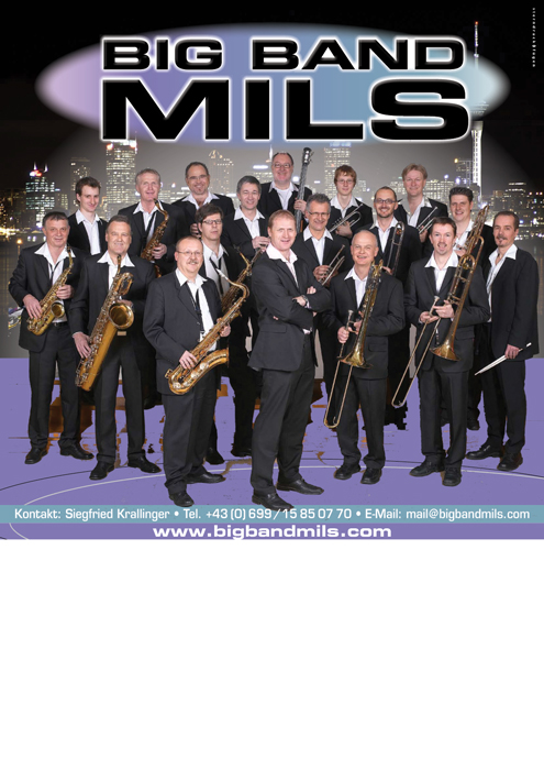 Big-Band-Mils Plakat