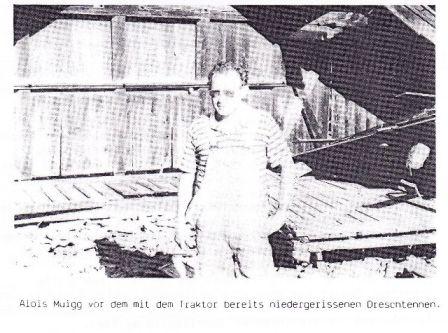 Dreschtennen Alois Muigg