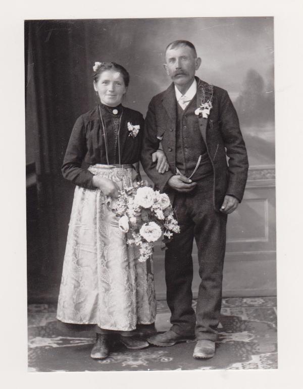 Hochzeitsfoto aus dem Jahr 1921