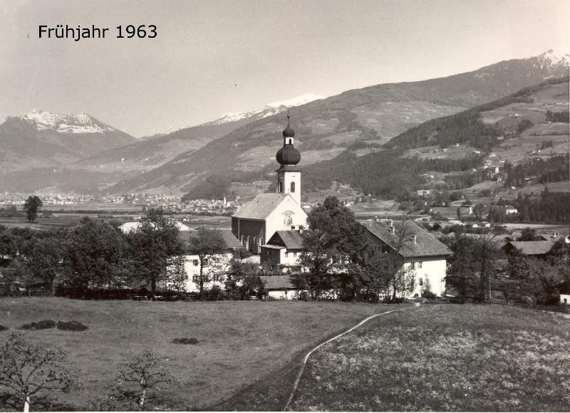 Das Dorfzentrum 1963