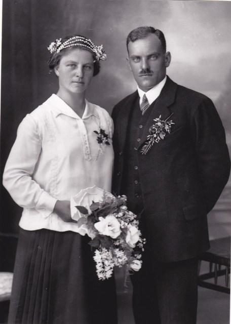 Hochzeitfoto Tiefenthaler Johann und Felizitas Winkler