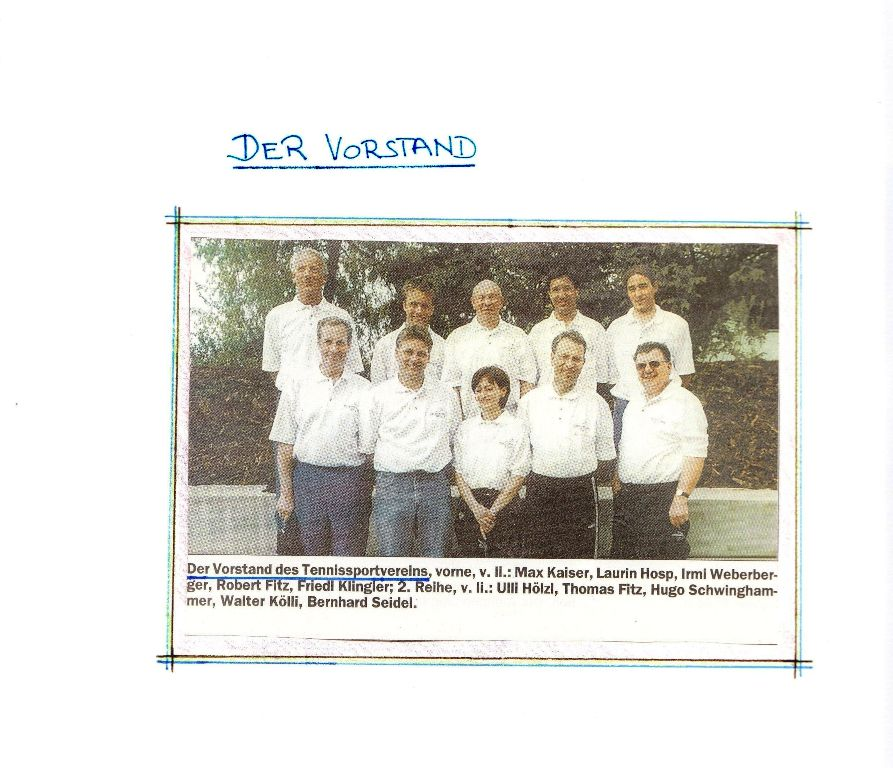 1. Vorstand des TSV Mils
