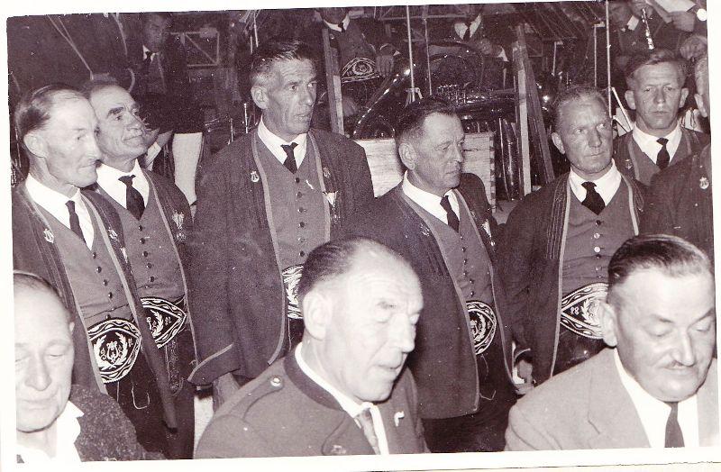 Musikkapelle:150-Jahr-Feier 1962