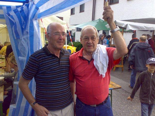 Rudolf Gaugusch und Walter Breitwieser
