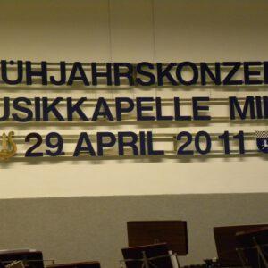 Frühjahrskonzert 2011