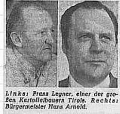 Dorfentwicklung: Kritischer TT-Artikel 1975