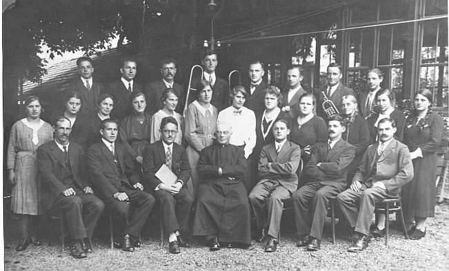 Milser Kirchenchor 1936