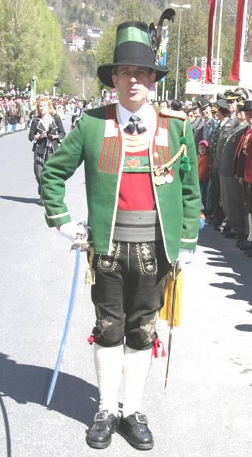 Mag. Fritz Tiefenthaler neuer Landeskommandant der Tiroler Schützen